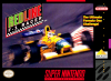 Redline F-1 Racer Nintendo Super NES cover artwork