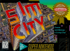 SimCity Nintendo Super NES cover artwork