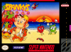 Spanky's Quest Nintendo Super NES cover artwork