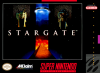Stargate Nintendo Super NES cover artwork