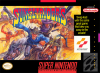 Sunset Riders Nintendo Super NES cover artwork