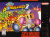 Super Bomberman 2 Nintendo Super NES cover artwork