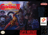 Super Castlevania IV Nintendo Super NES cover artwork
