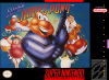 Super James Pond Nintendo Super NES cover artwork