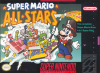 Super Mario All-Stars Nintendo Super NES cover artwork