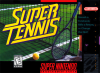 Super Tennis Nintendo Super NES cover artwork
