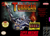 Super Turrican Nintendo Super NES cover artwork