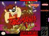 Taz-Mania Nintendo Super NES cover artwork