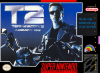 Terminator 2 - Judgment Day Nintendo Super NES cover artwork