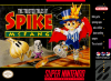 Twisted Tales of Spike McFang, The Nintendo Super NES cover artwork