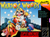 Wario's Woods Nintendo Super NES cover artwork