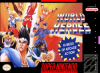 World Heroes Nintendo Super NES cover artwork