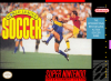 World League Soccer Nintendo Super NES cover artwork