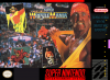 WWF Super WrestleMania Nintendo Super NES cover artwork