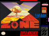X Zone Nintendo Super NES cover artwork