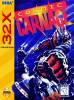 Cyber Brawl ~ Cosmic Carnage Sega 32X cover artwork