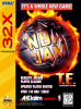 NBA Jam Tournament Edition Sega 32X cover artwork