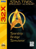 Star Trek Starfleet Academy - Starship Bridge Simulator Sega 32X cover artwork