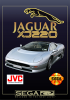 Jaguar XJ220 Sega CD cover artwork