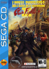 Lethal Enforcers II - Gun Fighters Sega CD cover artwork