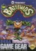 Battletoads Sega Game Gear cover artwork