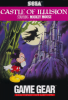 Castle of Illusion Starring Mickey Mouse Sega Game Gear cover artwork