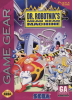 Dr. Robotnik's Mean Bean Machine Sega Game Gear cover artwork