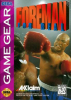 Foreman for Real Sega Game Gear cover artwork
