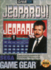 Jeopardy! Sega Game Gear cover artwork