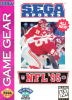 NFL '95 Sega Game Gear cover artwork