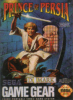 Prince of Persia Sega Game Gear cover artwork