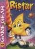 Ristar - The Shooting Star Sega Game Gear cover artwork