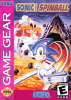 Sonic Spinball Sega Game Gear cover artwork
