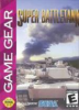 Super Battletank Sega Game Gear cover artwork