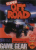 Super Off Road Sega Game Gear cover artwork