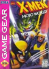 X-Men - Mojo World Sega Game Gear cover artwork