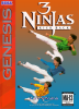 3 Ninjas Kick Back Sega Genesis cover artwork
