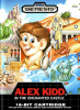 Alex Kidd in the Enchanted Castle Sega Genesis cover artwork