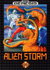 Alien Storm Sega Genesis cover artwork