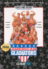 American Gladiators Sega Genesis cover artwork