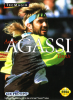 Andre Agassi Tennis Sega Genesis cover artwork