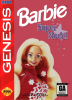Barbie Super Model Sega Genesis cover artwork