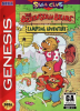 Berenstain Bears' Camping Adventure, The Sega Genesis cover artwork