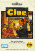 Clue Sega Genesis cover artwork