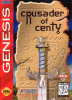 Crusader of Centy Sega Genesis cover artwork