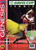 Davis Cup Tennis World Tour Sega Genesis cover artwork