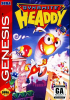 Dynamite Headdy Sega Genesis cover artwork