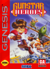 Gunstar Heroes Sega Genesis cover artwork