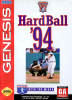 HardBall '94 Sega Genesis cover artwork
