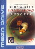 Jimmy White's Whirlwind Snooker Sega Genesis cover artwork